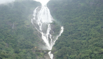 Dudhsagar Waterfalls Goa Border Karnataka
